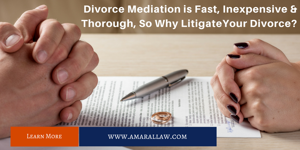Divorce Mediation is Fast, Inexpensive and Thorough. To learn more about our FIT Divorce Mediation Program call us at (617)539-1010.