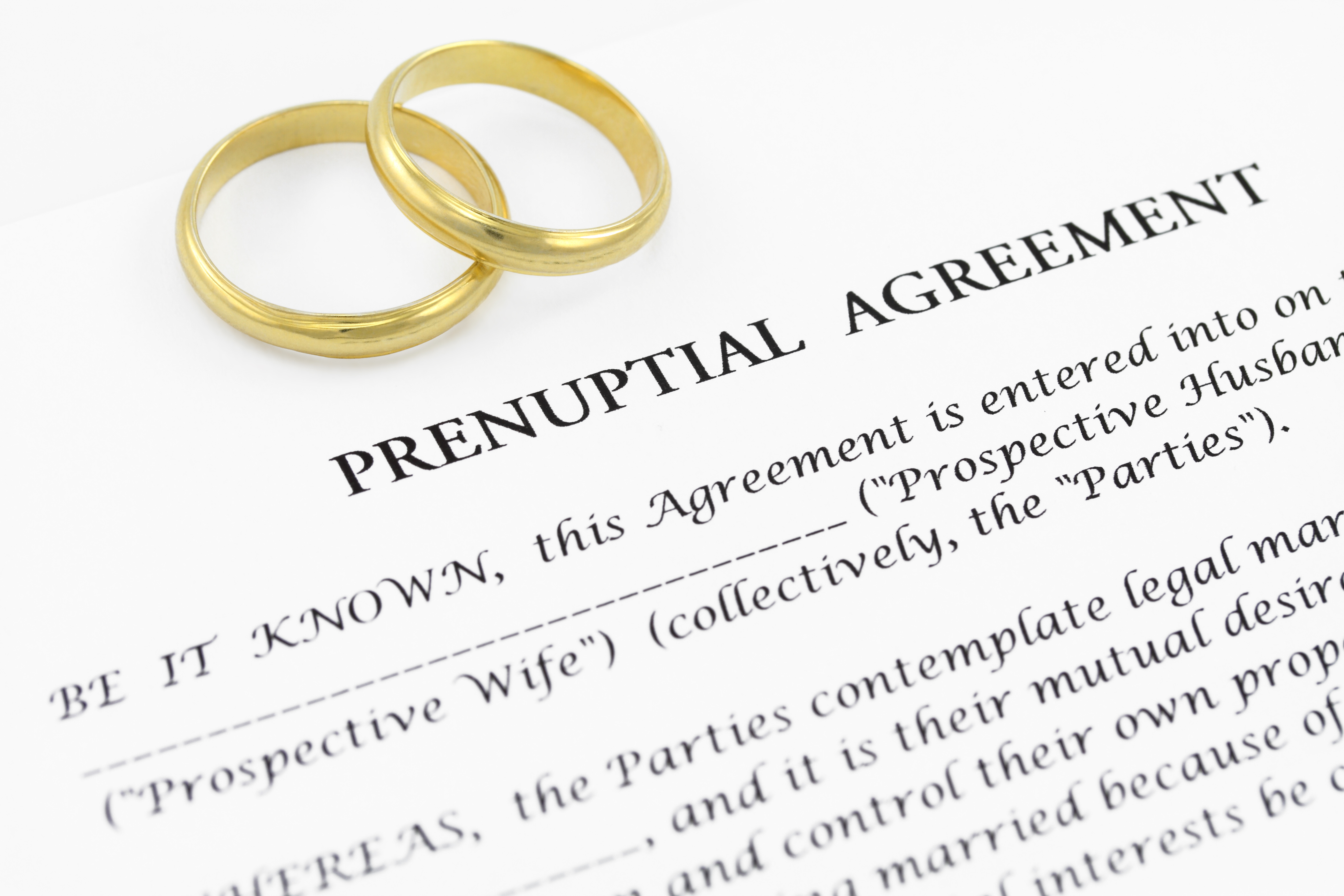 What Happens When A Prenuptial Or Postnuptial Agreement Is